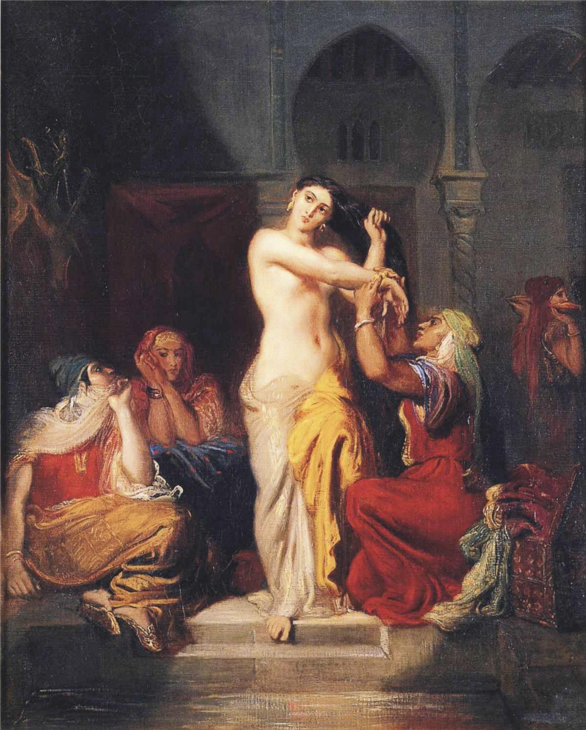 Муз принесла что держит женщина на картине в бане кто-то любой момент