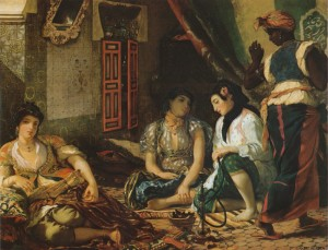 Delacroix, 1834